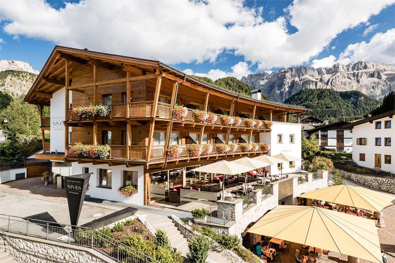 boutique hotel nives luxury design in the dolomites